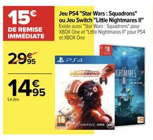 Star Wars Squadrons sur PS4