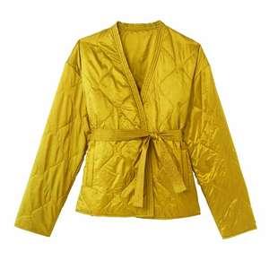 Sélection d'articles en promotion - Ex: Doudoune light style kimono La Redoute Collection - Jaune