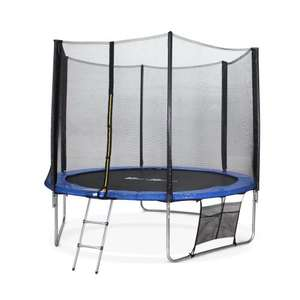 Trampoline de Jardin Alice's Garden Mars XXL (KIT305BLUE) - 305cm avec accessoires