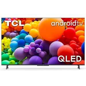 "TV 55"" TCL 55C725 - QLED, 4K UHD, HDR 10+, Dolby Vision, Android TV, HDMI 2.1 / VRR / ALLM (+ Jusqu'à 160.77€ en RP) - Via ODR 100€ (Ubaldi)"