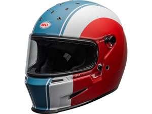 Casque moto intégral Bell Eliminator Slayer - Blanc Rouge Bleu, Taille L et XL (3as-racing.com)