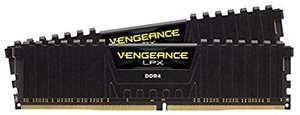 Kit mémoire RAM Corsair Vengeance CMK16GX4M2Z3600C18 - 16 Go (2 x 8 Go), DDR4, 3600MHz, CL18