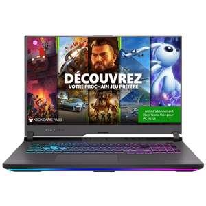 """PC portable 17.3"""" full HD Asus ROG Strix G17 G713QM-HX016 - 144 Hz, Ryzen 9 5900HX, RTX-3060 (6 Go), 16 Go, 1 To, sans OS"""