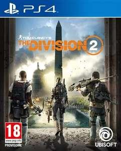 The Division 2 sur PS4 (vendeur tiers - frais de port inclus)