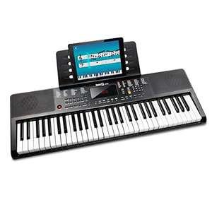 Clavier Audio Compact 61 touches RockJam + 3 mois d'abonnement à Skoove Premium
