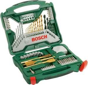 Ensemble de forets et de tournevis en titane Bosch X-Line - 70 pièces