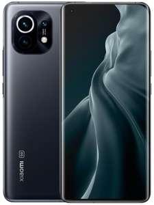 """Smartphone 6.81"""" Xiaomi Mi 11 5G - WQHD+, SnapDragon 888, 8 Go de RAM, 128 Go, gris"""