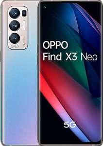 "Smartphone 6.55"" Oppo Find X3 Neo 5G - OLED 90 Hz, Snapdragon 865, 12 Go RAM, 256 Go, 4500 mAh (Version ES / PT)"