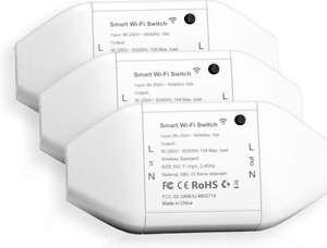 Lot de 3 interrupteurs connectés Meross - 10A (vendeur tiers)