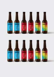 Lot de 3 packs de 12 bières Gallia parmi une sélection (3x12) - GalliaParis.com