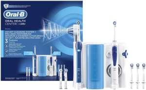 Pack Oral-B - hydropulseur OxyJet Cleaning System + brosse à dents électrique Pro 2000