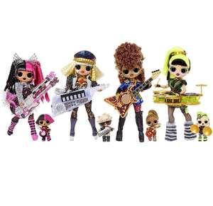 LOL Surprise OMG Remix Super Surprise - 4 Poupées Mannequins & 4 Instruments de Musique