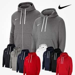 Lot de 2 sweatshirts Nike Park 20 : 1 veste à capuche + 1 sweatshirt à capuche pour Hommes - 5 couleurs - Tailles du S au 3XL