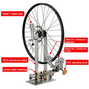 Centreur pour réglages de roue de vélo Lixada