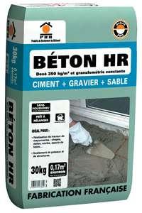 Sac de béton PRB HR - ciment + gravier + sable, 350 kg/m3, 30 kg