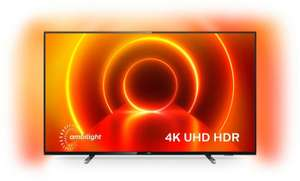 "TV 65"" Philips 65PUS7805 - 4K UHD, LED, Smart TV, Dolby Vision, Ambilight 3 côtés"