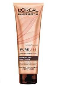 Shampooing L'Oréal Pure Liss sans sulfate à la keratine