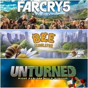 [Gold] Far Cry 5, Bee Simulator & Unturned jouables gratuitement sur Xbox ce weekend (Dématérialisés)