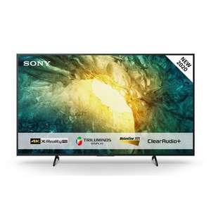 """TV 65"""" Sony KD65X7055 - 4K UHD, Smart TV (Frontaliers Suisse)"""