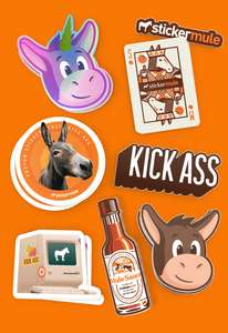 Pack de stickers gratuits