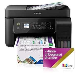 Imprimante multi-fonction à jet d'encre Epson EcoTank ET-4700 Unlimited + carte d'impressions illimitées pendant 2 ans