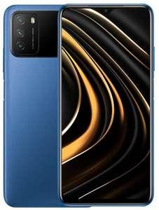 """Smartphone 6.53"""" Xiaomi Poco M3 - full HD+, SnapDragon 662, 4 Go de RAM, 128 Go, bleu (entrepôt Allemagne )"""