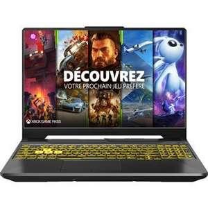 "PC Portable Gaming 15.6"" Asus A15-TUF566QR-HN062T - Ryzen 7 5800H, 16 Go RAM, 512 Go SSD, RTX 3070, W10 + 1 mois d'abonnement Xbox Game Pass"