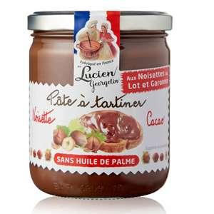 Pot de pâte à tartiner Lucien Georgelin Bio - 280 g, sans huile de palme