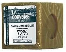 Cube de Savon de Marseille Olive La Corvette - 500g