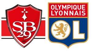 Billet pour le match de football Ligue 1 Olympique Lyonnais / Stade Brestois gratuit - cat. 1, tribune Sud, le 06/08 (17 h) à Lyon (69)