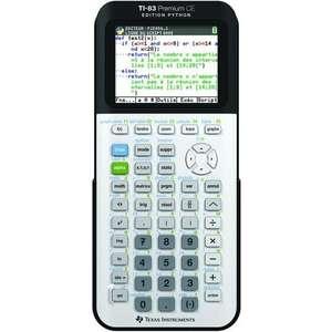 Calculatrice graphique Texas Instruments TI-83 Premium CE Edition Python