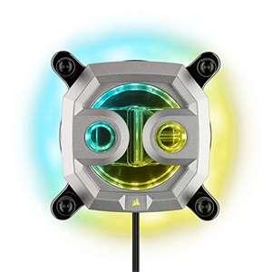 Corsair Hydro X Series XC9 RGB - Intel 2066 / AMD sTRX4 - Argent
