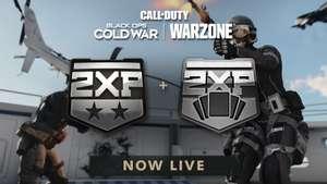 Call of Duty Black Ops Cold War & Warzone: Double XP et Double XP de Battlepass ce week-end sur PC, Xbox & PlayStation (Dématérialisé)