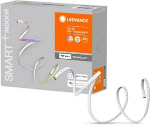 Sélection de produits Ledvance en promotion - Exemple : Ruban LED connectée Smart+ - 200 cm, Wifi, Compatible Google Assistant, Alexa