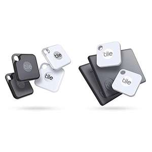 Lot de localisateurs Bluetooth : 4 Tile Pro, 2 Tile Mate, 2 Tile Slim