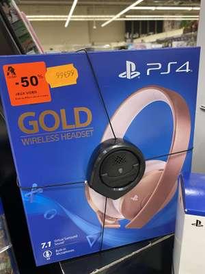 Casque sans-fil PS4 - Wireless Headset Gold (Mont Saint Martin 54)