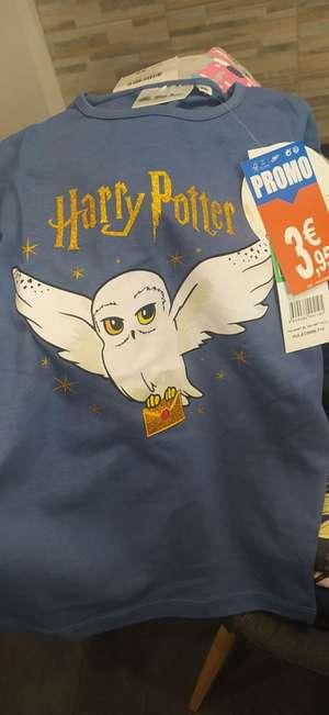 Sélection de vêtements Harry Potter en promotion - Ex : T-shirt Hedwige (Le Plessis-Belleville 60)