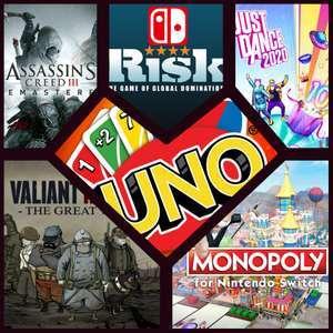 Sélection de jeux Ubisoft en promotion sur Nintendo Switch - Ex : Uno (Dématérialisé)