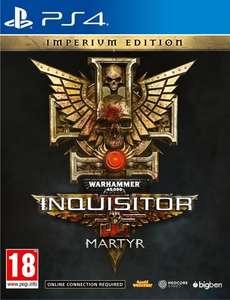 Warhammer 40.000 Inquisitor Martyr Imperium Steelbook sur PS4 - St Laurent du Var (06), Aix Les Milles (13), Angoulême (16)