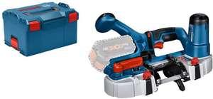 Scie à ruban sans fil Bosch Professional GCB 18V-63 + L-Boxx (Sans batterie ni chargeur)