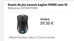 Souris sans fil Lenovo Legion M600