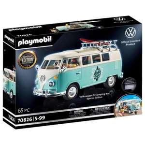 Jouet Playmobil Volkswagen T1 Combi 70826 - Edition spéciale