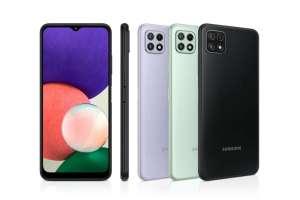 """Smartphone 6.4"""" Samsung A22 - 64Go, 4G"""