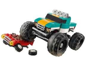 Jeu de construction Lego Creator Monster Truck - 163 pièces (plusieurs modèles)