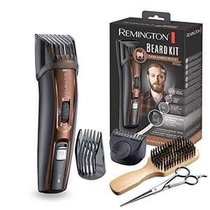 Coffret rasage Remington MB4046 - Tondeuse Barbe, Lames Titanium Auto-Affûtées, Sabots Ajustables