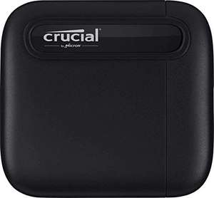 SSD Externe USB-C 3.1 Gen 2 Crucial X6 (CT500X6SSD9) - 500 Go