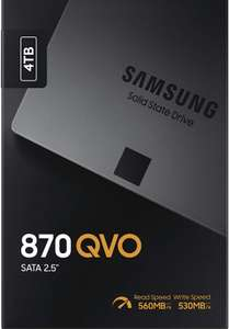 "SSD Interne 2.5 ""Samsung 870 QVO MZ-77Q4T0BW - 4 To, SATA III"