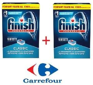 2 Packs de 100 Tablettes lave-vaisselle Finish PowerBall Classic - 2 x 1,633 Kg