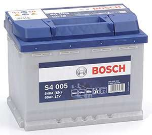 Batterie auto Bosch S4 005 - 12 V, 60 Ah