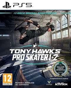 Tony Hawk's Pro Skater 1+2 sur PS5